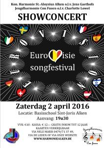 showconcert eurovisiesongfestival 2016